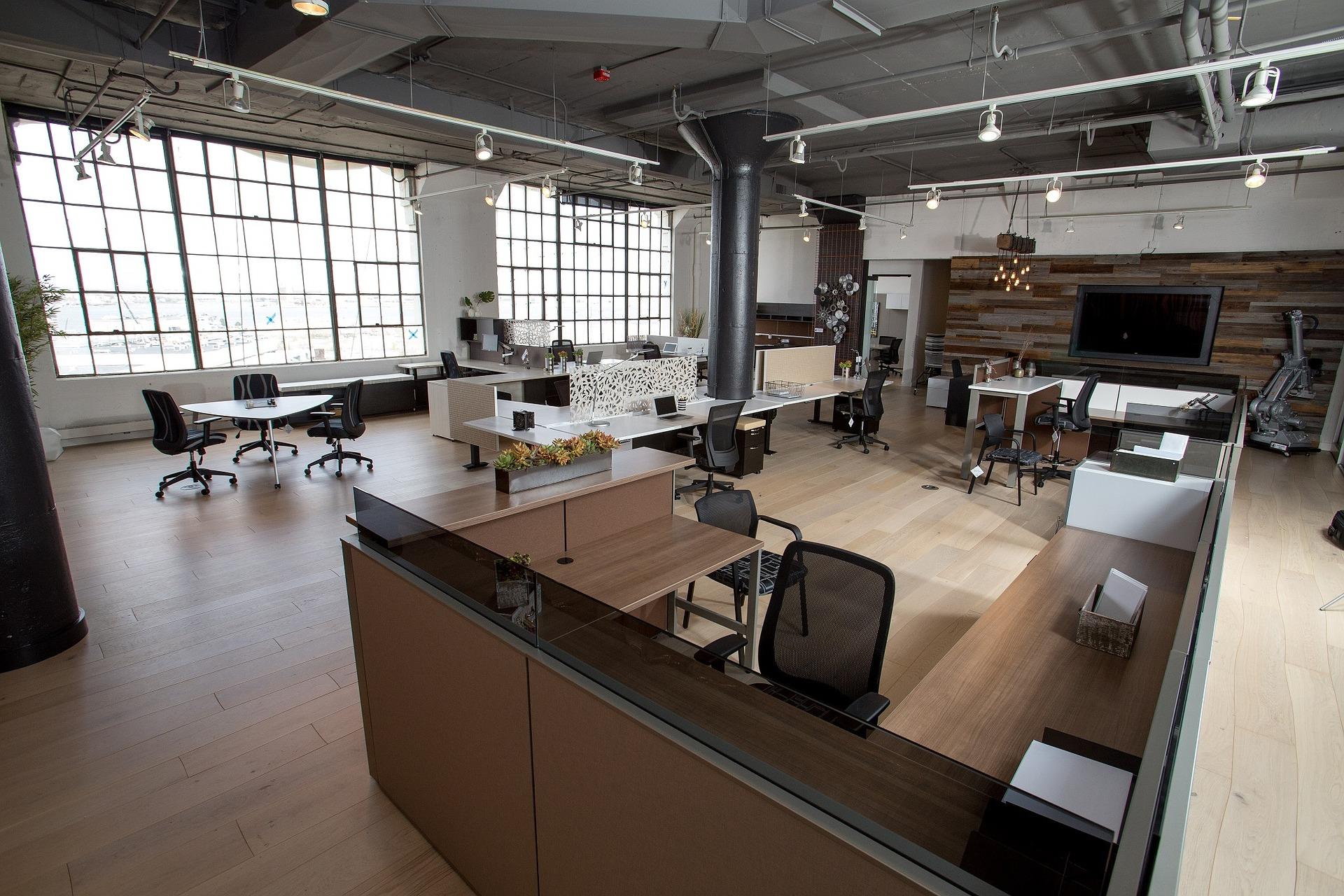 Rekonstrukce kanceláří a kancelářských budov